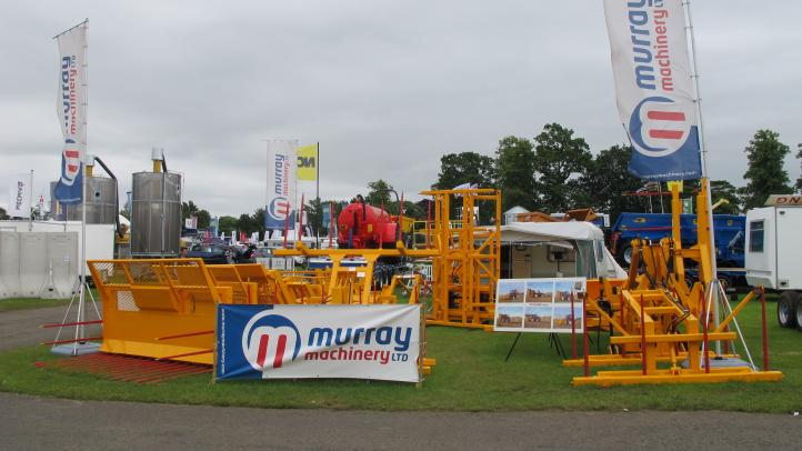 Murray Machinery stand at the Royal Highland Show 2016