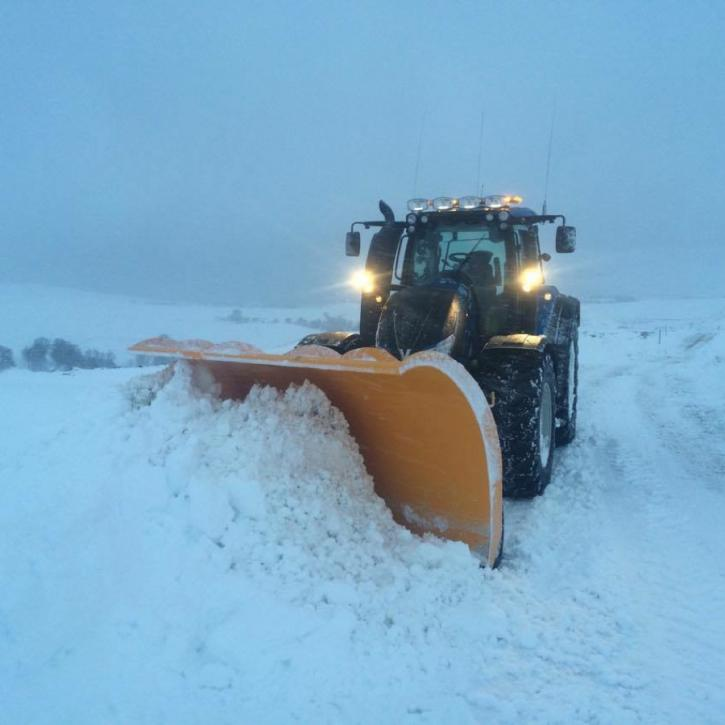 1200mm.high Snow Blade