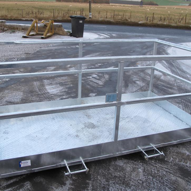 8' x 4' Access Platform - Galvanised