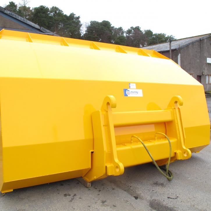 6 Cub.m Hi Tip Bucket to suit JCB436 Loading Shovel - with Volvo Quick Hitch