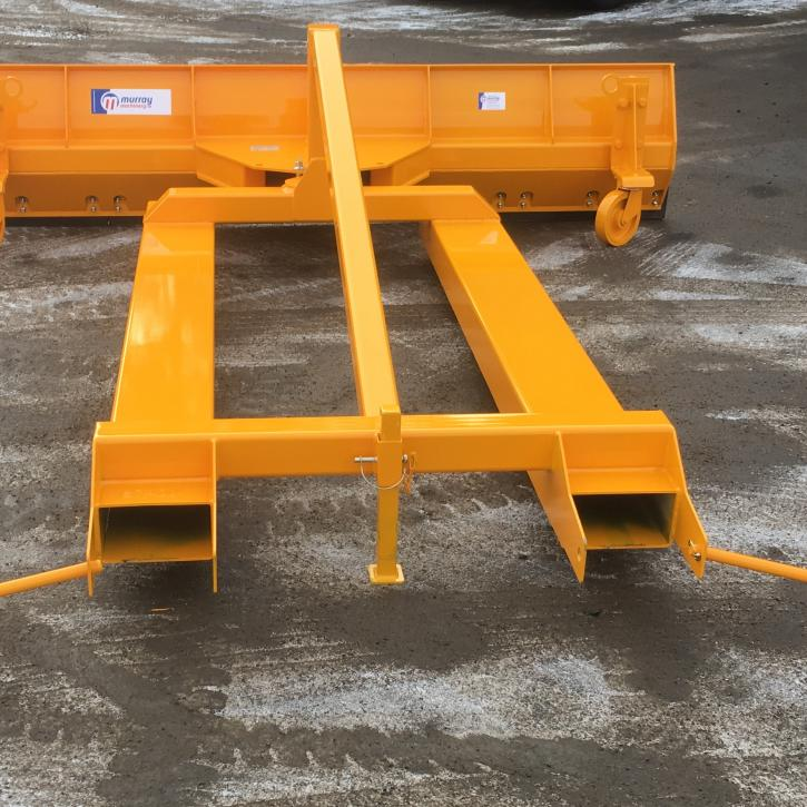 550mm x 2450mm Manual Snow Blade with Fork Pockets