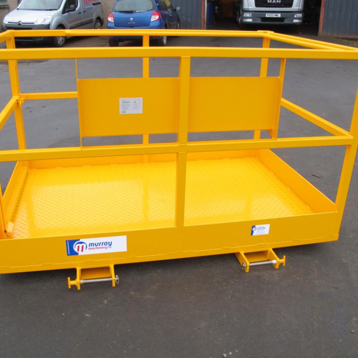 6' x 4' Access Platform c/w Tool Shelf
