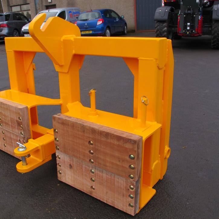 Implement Mover - Sanderson  Telehandler c/w removable draw-bar