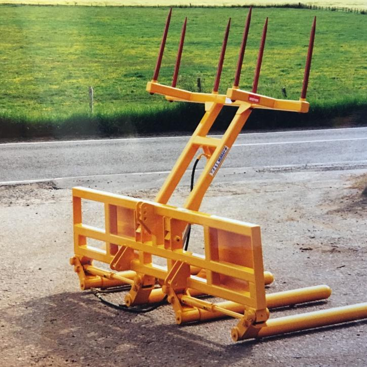 Double Wrapped Bale Handler with Transporter Top