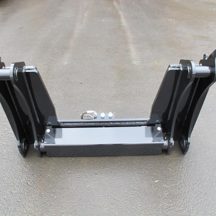 Cat 444F  -  Volvo Quick Hitch Adapter
