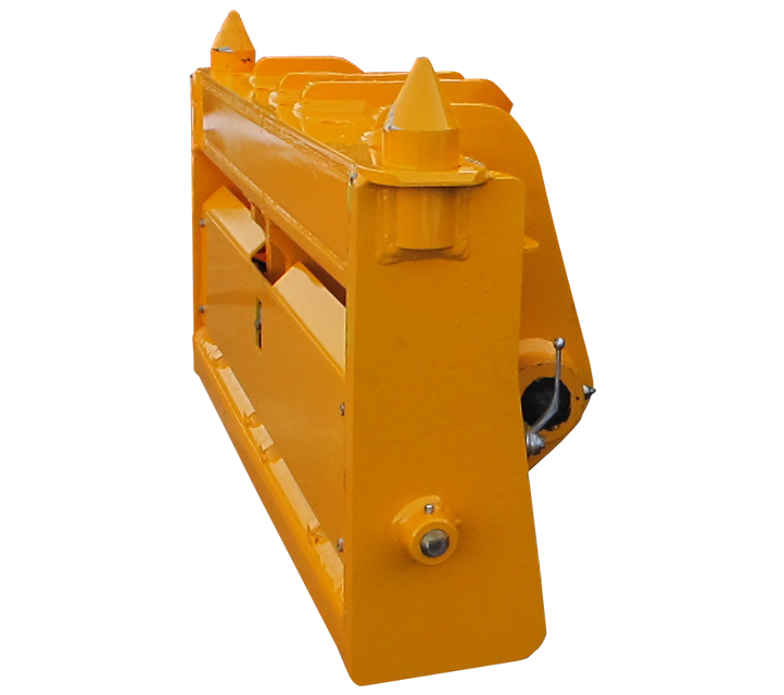 JCB 560-50 - Pin & Cone Quick Hitch Adapter