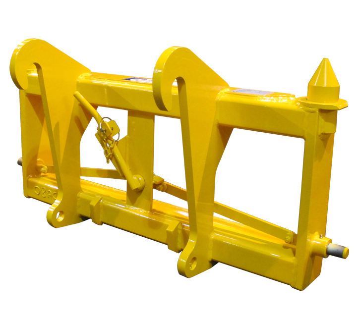 JCB 526 - Pin & Cone Quick Hitch Adapter