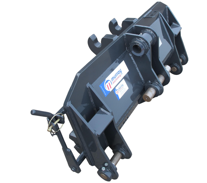 Terex 860 Quick Hitch