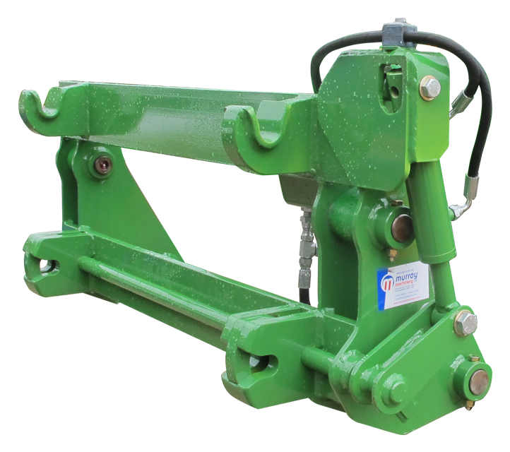 John Deere - Ford 550 Quick Hitch Adapter