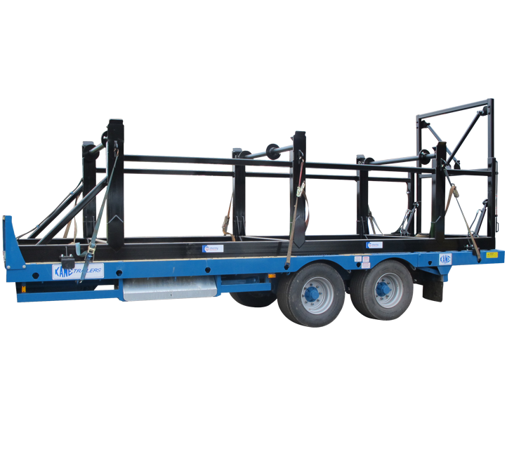 Cable Spooling Skid Frame
